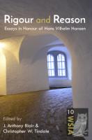 Cover for Rigour and Reason: Essays in Honour of Hans Vilhelm Hansen