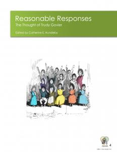 Cover for  Reasonable Responses: The Thought of Trudy Govier
